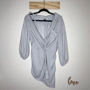 Windsor White Stripe Blouse